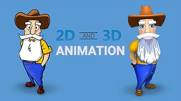 2D and 3D Animation